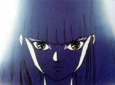 <p>Close up of Kayura&#039;s face, still hidden in shadows.</p>