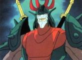 <p>Sekhmet/Naaza in armor.</p>