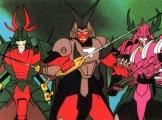 <p>3 Dark Warlords/Mashou in armor.</p>
