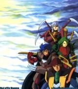 <p>4 Dark Warlords/Mashou in armor.</p>