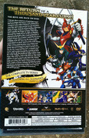 Back cover of Samurai Troopers TV Series Collection